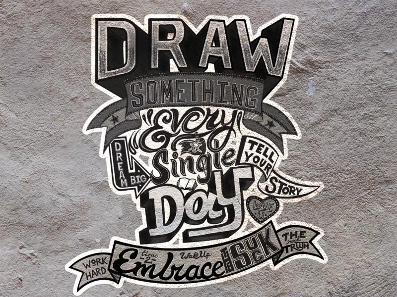 Draw Something Daily