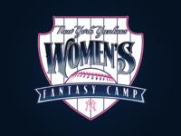 NYY Women's Fantasy Camp Logo