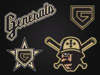 Stateline Generals Logo Set