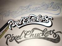Pixelchuckers Logo Progress