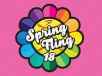 Spring Fling T-Shirt Logo