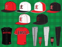 2018 East Baseball Uniform Set