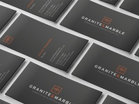 Granite & Marble Business Cards