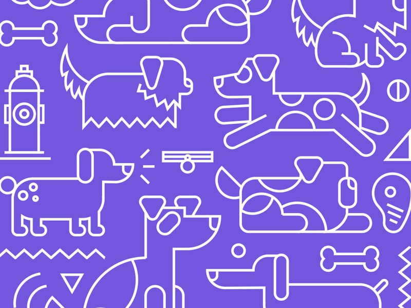 Dog Food Pattern food and drink food vector illustration pet food pets pattern illustration dog food packaging dog food dog food packaging