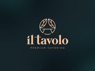 il tavolo Logo Design