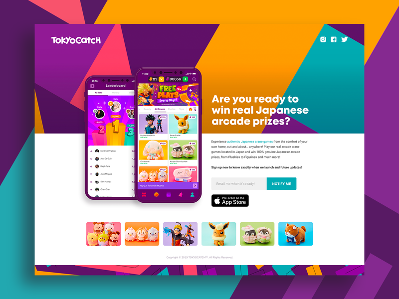 Pre-order Landing Page for TC landing page design branding app desgn application design ui design userinterface website design landing page