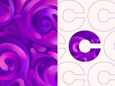 3/30 - Color Patterns wave pattern colors patterns typography illustration branding illustrations vector art design