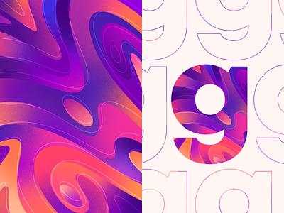 Cosmos- Color Pattern Series freebie free download art branding procreateapp illustration procreate waves color pattern illustrations design