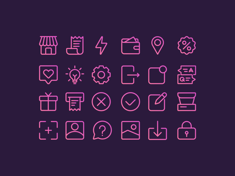 Icons illustration vector illustrations web icons icon set icon icons