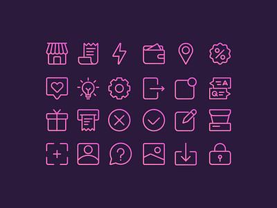 Icons illustration vector illustrations web icons icon set icon icons