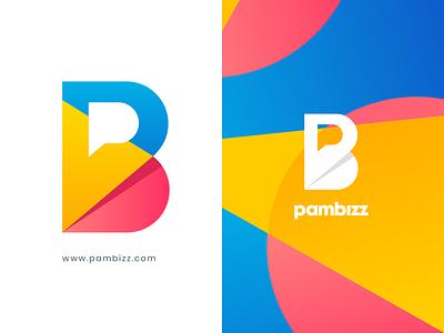 Pambizz Logo logo design dribbble letter b letter p design logo branding logo design branding pb logo p logo monogram logo designer