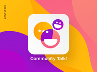 Community Talk App Icon