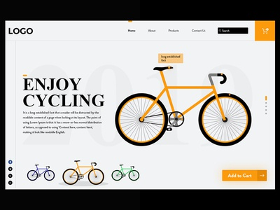 Bicycle Web Design