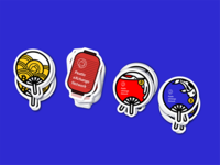 crypto sticker