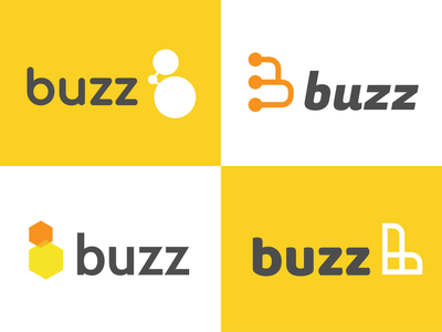 More Buzz Exploration icon b wing comb honeycomb honey bee buzz branding tyse logo design mathijs boogaert