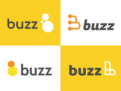More Buzz Exploration icon b wing comb honeycomb honey bee buzz branding tyse logo design mathijs boogaert