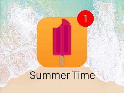 Daily UI #005 || App Icon daily ui 005 application apple boogaert mathijs pop cream ice summer icon app