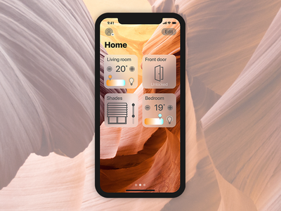 Daily UI #021    Home Monitoring Dashboard pannel controle smart apple kit boogaert mathijs daily ui 021 dashboard monitoring home