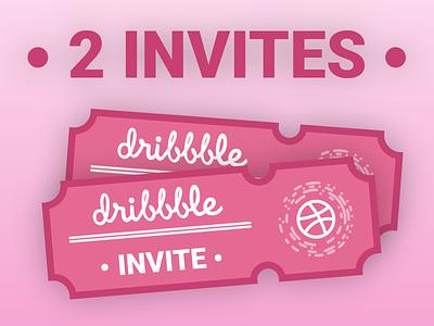 2 Dribbble Invites boogaert mathijs 2 code qr round new player ticket invites invite dribbble