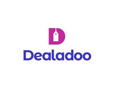 Dealadoo Logo design tyse type strong d letter mark buy proposal selling sell tag pay deal logo branding