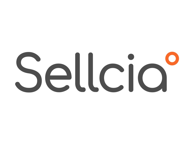 Sellcia Logo commerce sellcia design tyse mark buy sell simple clean modern temprature logo branding