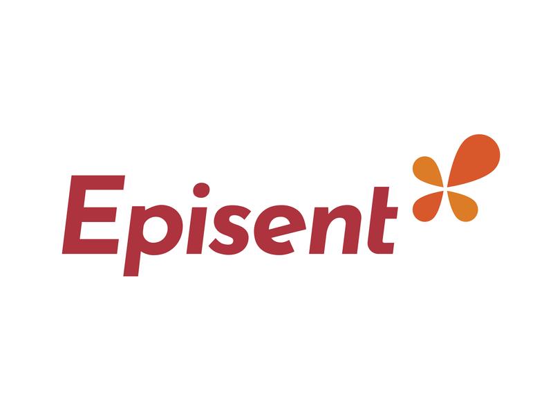 Episent Logo accuracy design tyse branding mark icon logo e modern flower center power