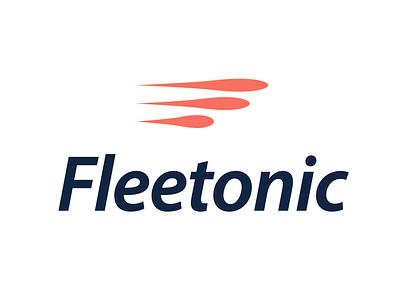 Fleetonic shot bullet design tyse mark symbol f speed drop fast sale for logo