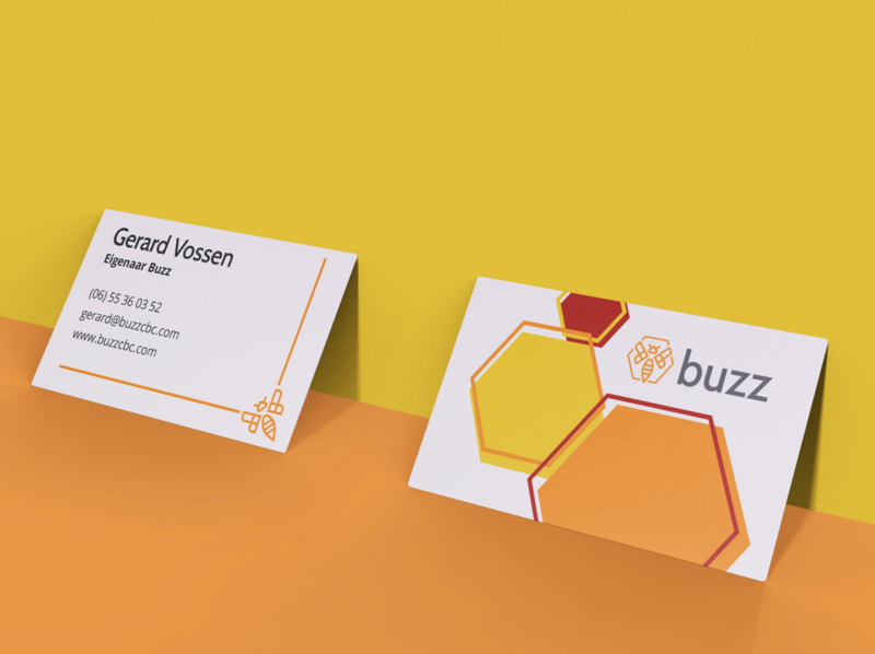 buisniness card education buzz card contact hive logo bee design business card businesscard