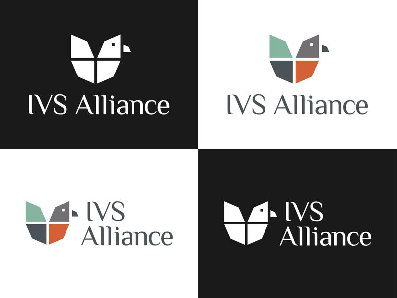 IVS Alliance Branding university school free fly flying branding logo alliance ivs netherlands england bird red robin