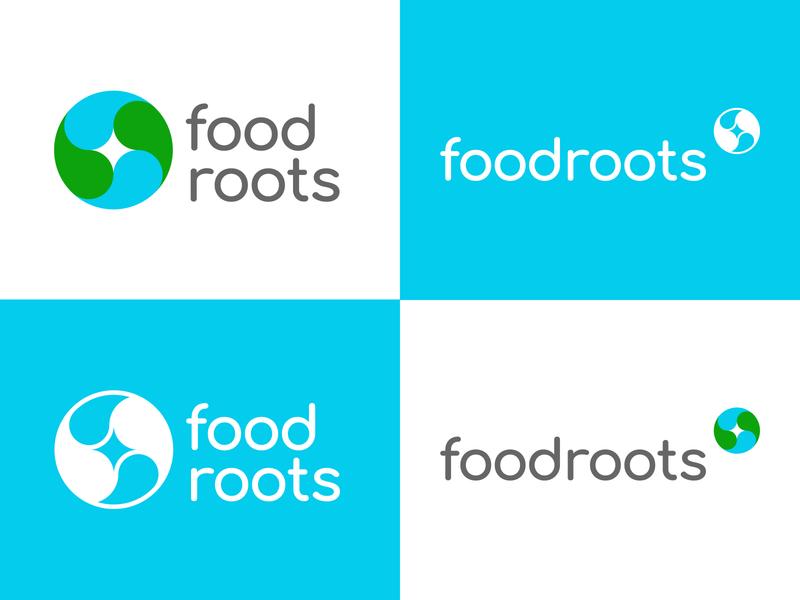FoodRoots Branding project ying yang yingyang root food globalwarming green planet design illustration branding tyse logo boogaert mathijs
