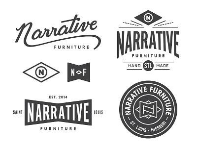 Narrative Leftovers logo black white