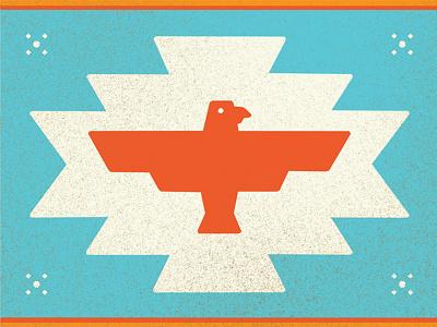 Firebird southwest illustration