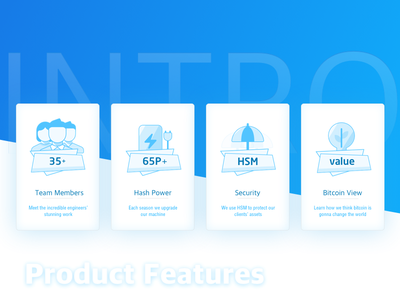 Product Feature Card feature