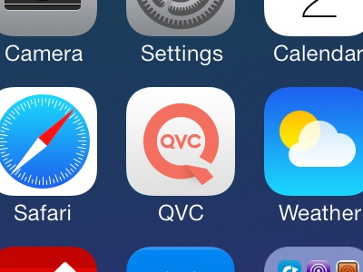 QVC Icon for iOS 7