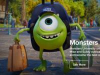 Pixar.com Concept