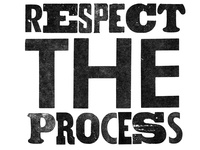 Respect the Process Letter Press