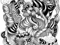 This is what I do when I doodle
