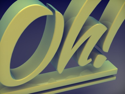 Oh! 3d cinema4d