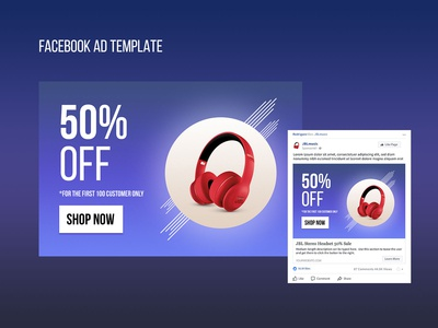 Facebook Ads Template