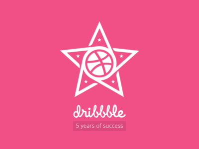 Dribbble - 5 years of SUCCESS