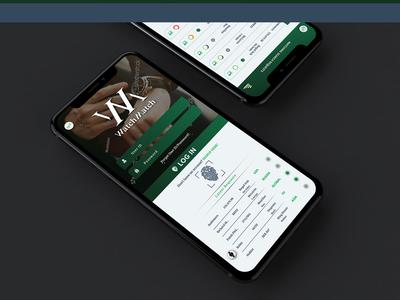 WatchMatch App UI design