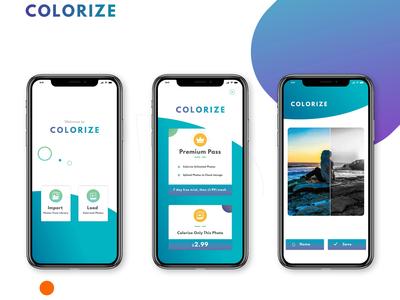 Colorize App UI
