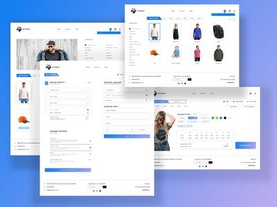 MyTprint | Web screen design