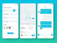 Dog Walker App UI Design