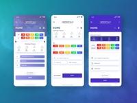 ExpressLingua UI Dashboard Design