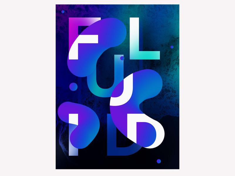 fluid 4814418 typography design