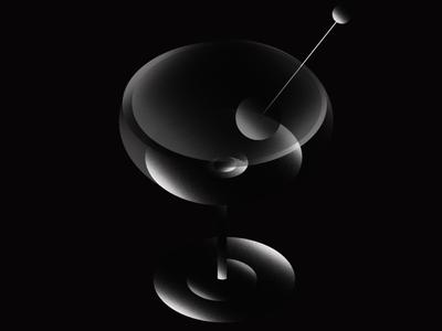 Martini art direction gradient vector visual art branding adobe illustrator adobe illustration design