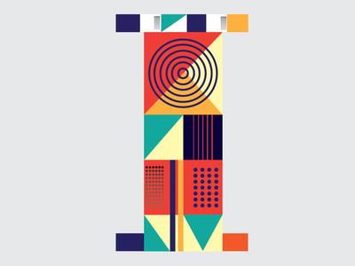 Letter I-36 Days Of Type