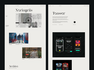 Portfolio Design 2020 grid layout typography ui design website web design case study portfolio