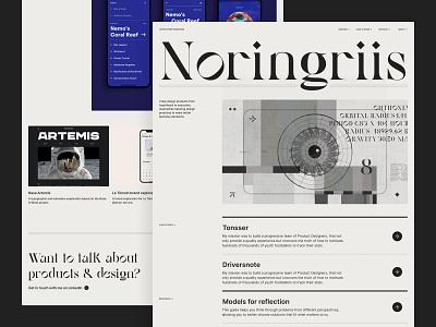 Portfolio 21 ui ui design portfolio grid layout typography grid website web design